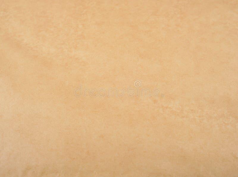 коричневая текстура пергаментной бумаги стоковое изображение rf