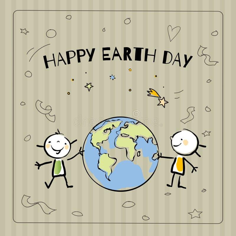 коричневейте покрытую землю дня относящое к окружающей среде листво идет идя зеленый вал текста лозунгов высказываний фраз природ иллюстрация штока