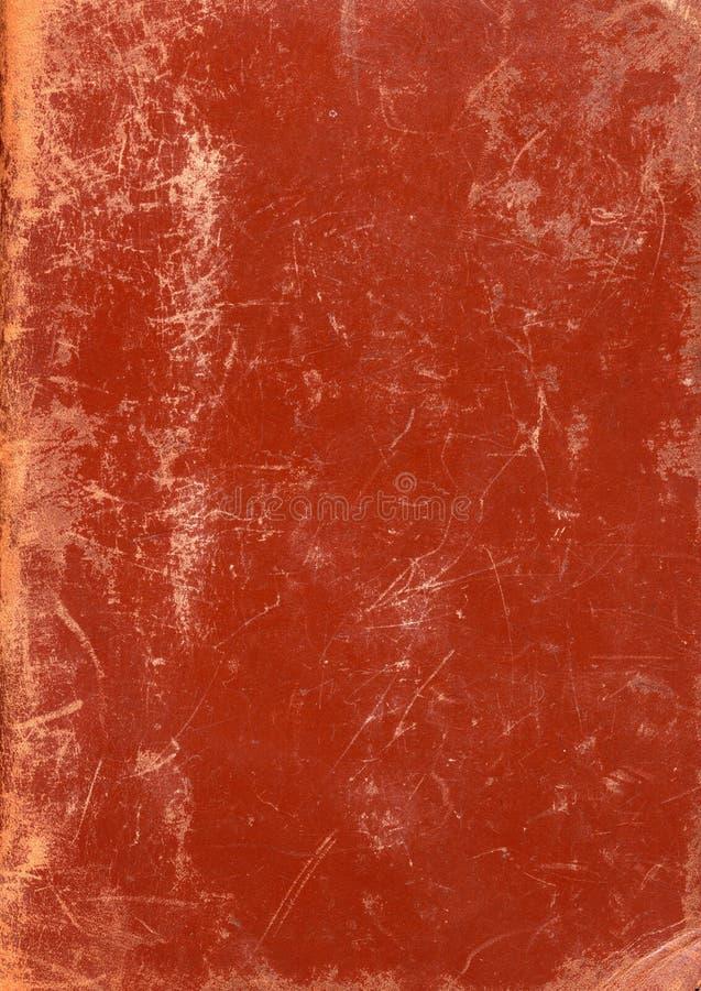 коричневейте текстуру scuffed кожей стоковые изображения