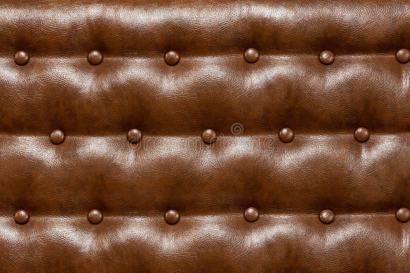 коричневое кожаное драпирование стоковые фотографии rf