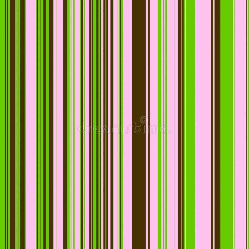 коричневые зеленые розовые нашивки иллюстрация вектора