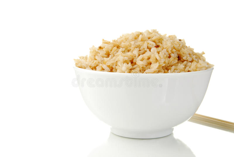коричневый рис стоковые фотографии rf