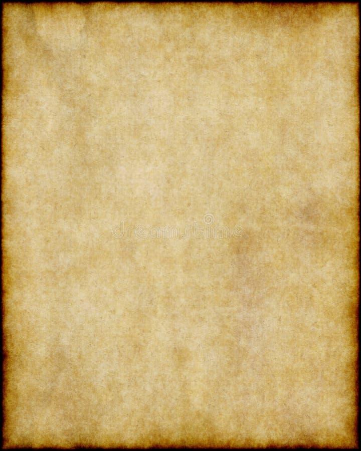 коричневый старый бумажный пергамент иллюстрация вектора