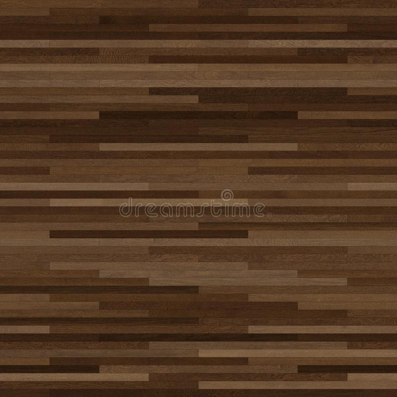 Коричневый цвет безшовной деревянной текстуры партера тонкий линейный темный бесплатная иллюстрация