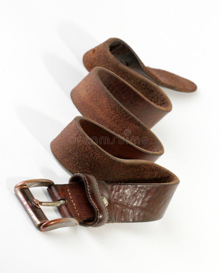 коричневый цвет пояса стоковые изображения