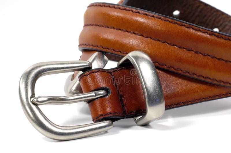 коричневый цвет пояса стоковая фотография