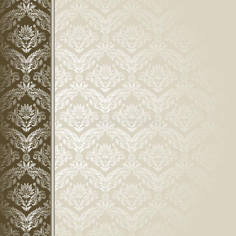 коричневый цвет предпосылки бежевый иллюстрация вектора