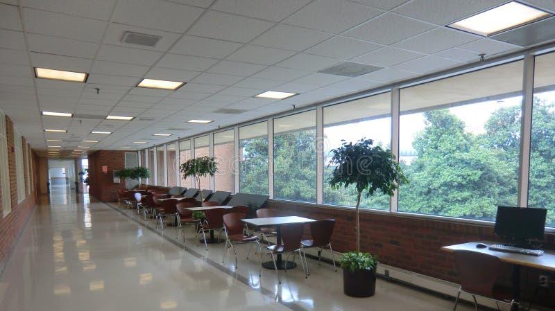 Коридор больницы UVA стоковая фотография