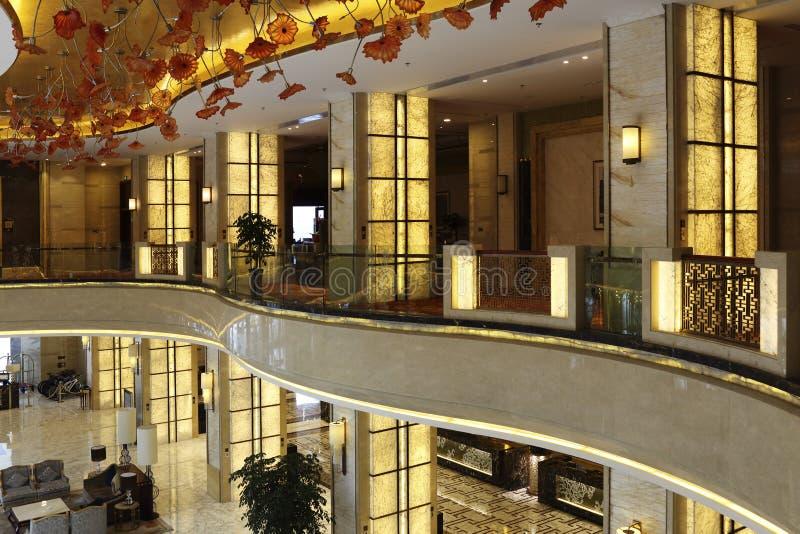 Коридор дуги гостиницы стоковое изображение rf