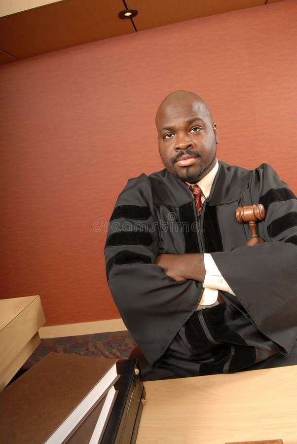 кормка судьи стоковая фотография rf