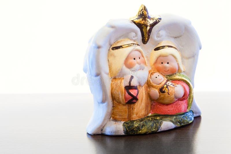 кормушка рождества стоковое фото rf