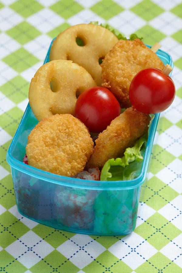 Коробка бенто для детей стоковое изображение rf