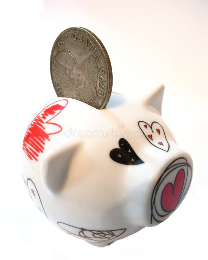 Коробка денег стоковая фотография
