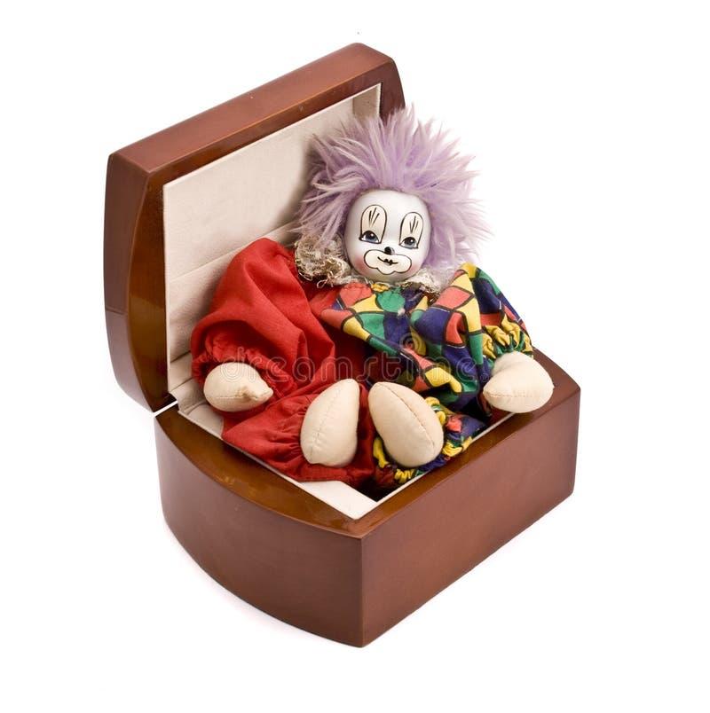 коробка деревянная стоковое изображение