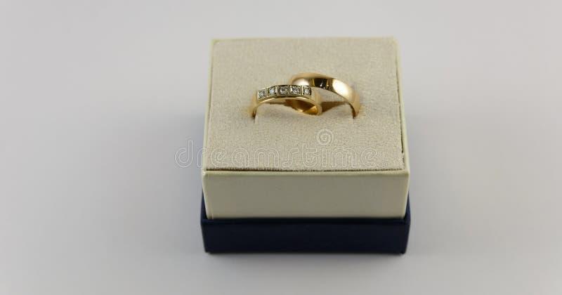 коробка звенит 2 wedding стоковое фото rf