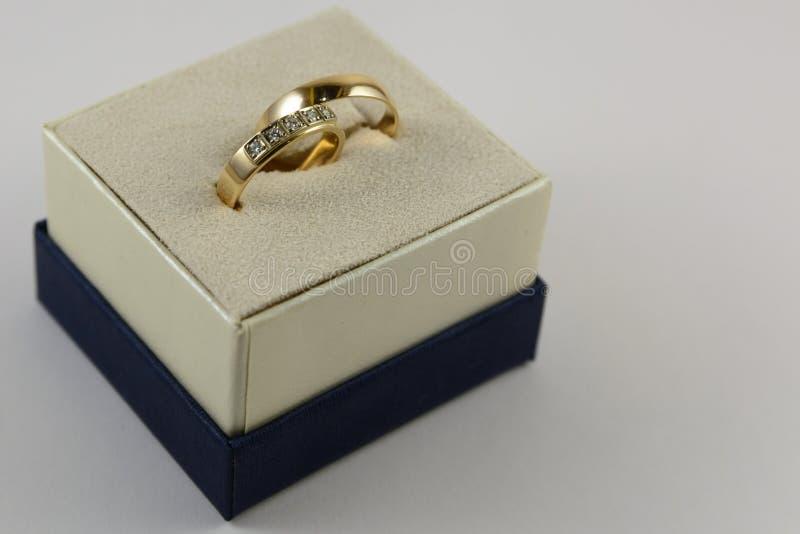 коробка звенит 2 wedding стоковая фотография