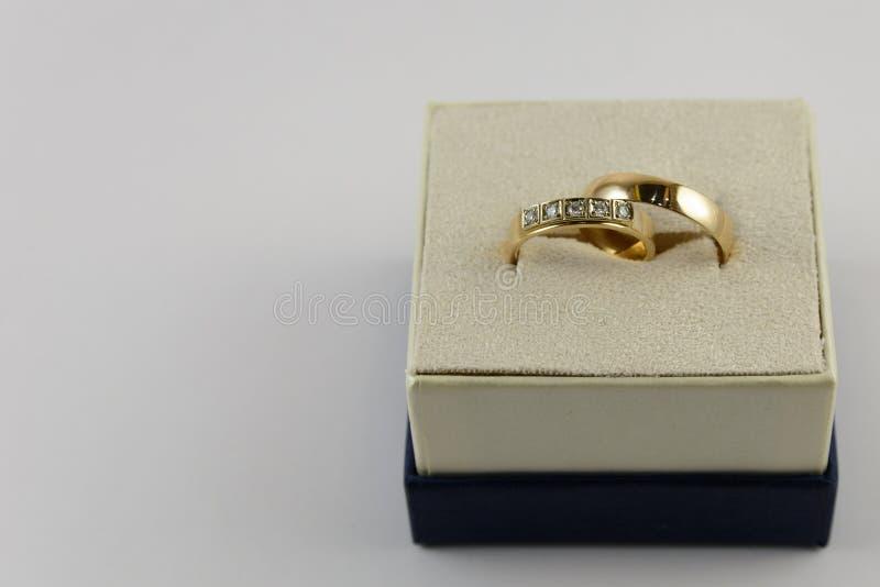 коробка звенит 2 wedding стоковые фото
