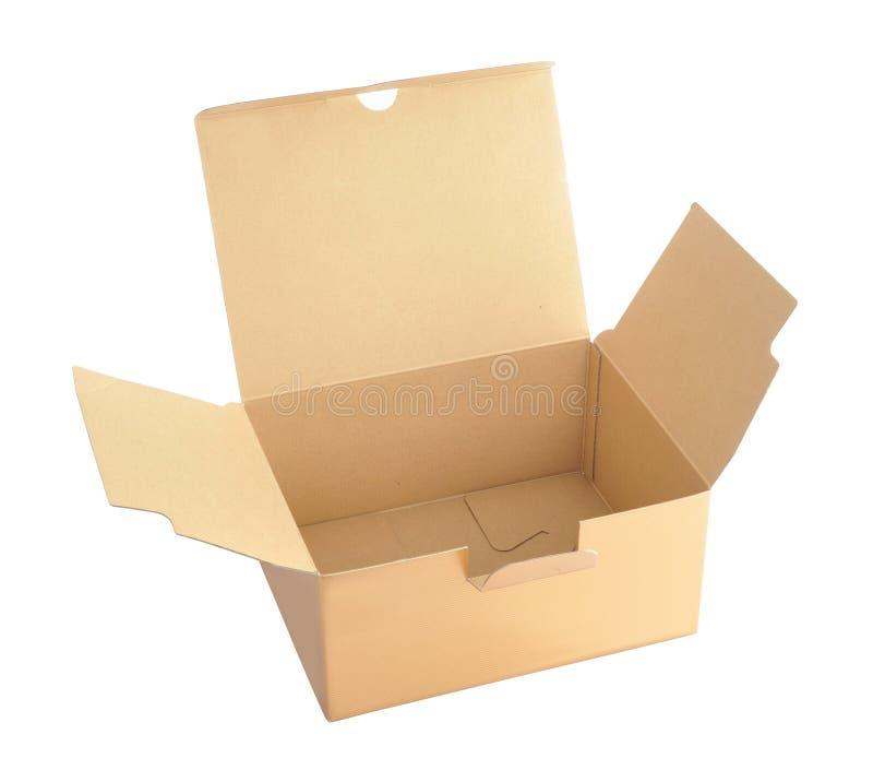 коробка коробки открытая стоковые фотографии rf