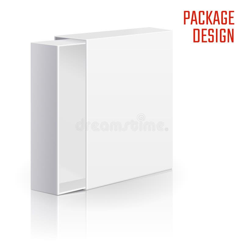 Коробка коробки подарка иллюстрация штока