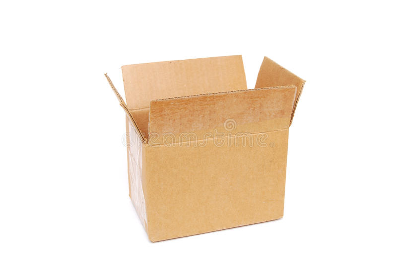 коробка малая стоковое изображение rf