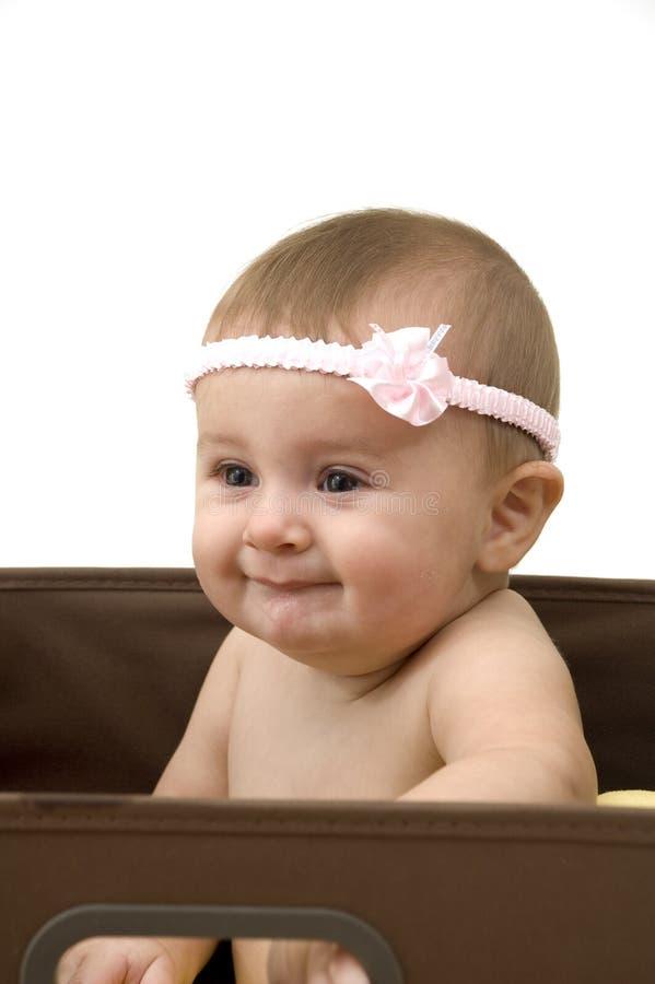 коробка младенца милая стоковое изображение
