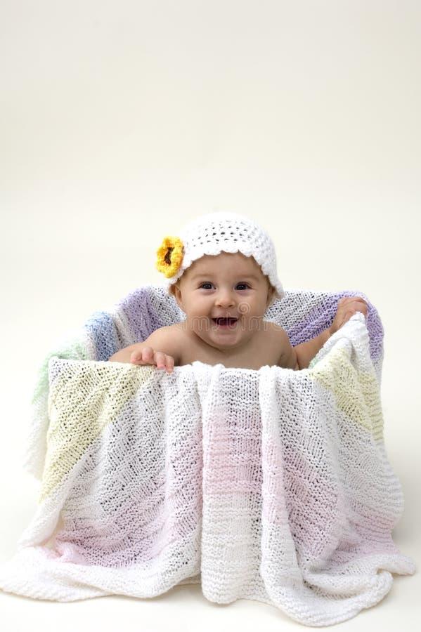 коробка младенца стоковые изображения