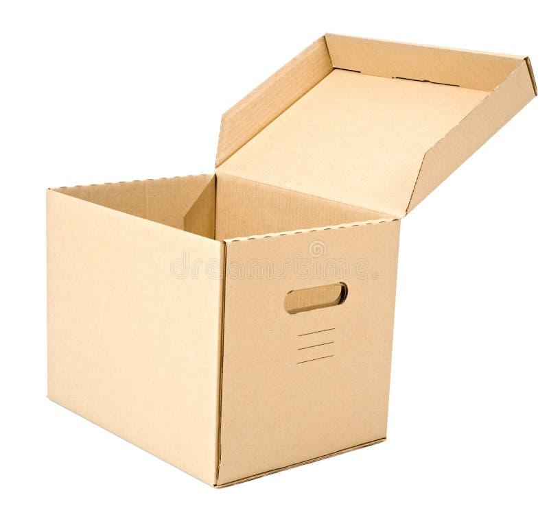 Download коробка открытая стоковое фото. изображение насчитывающей backhoe - 6865382