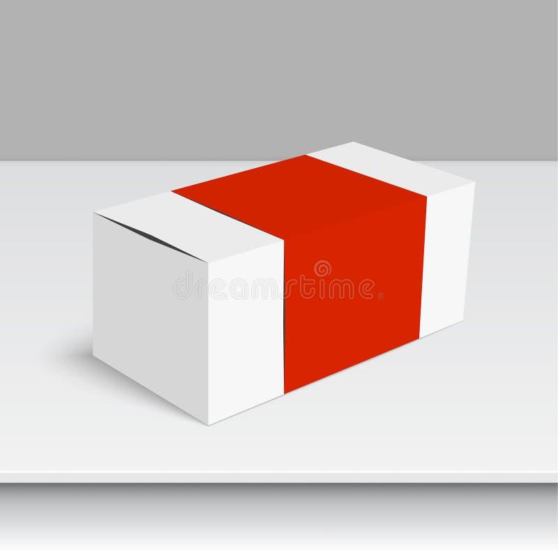 Коробка пакета белая бесплатная иллюстрация