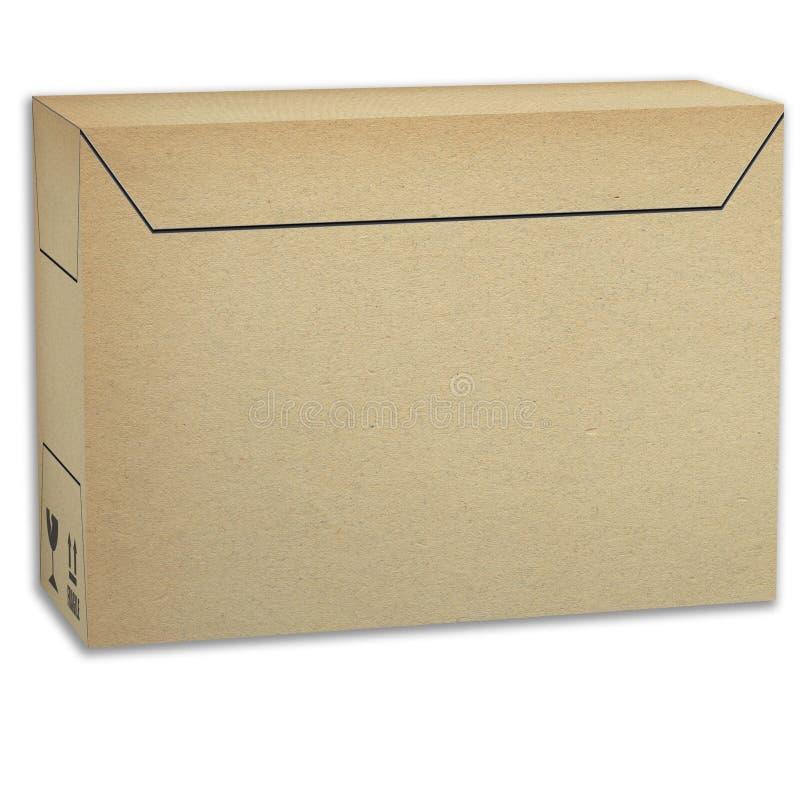 Коробка пакета мастерская для автоматический упаковывать бесплатная иллюстрация