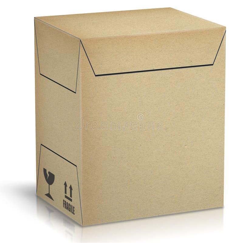 Коробка пакета мастерская для автоматический упаковывать иллюстрация вектора