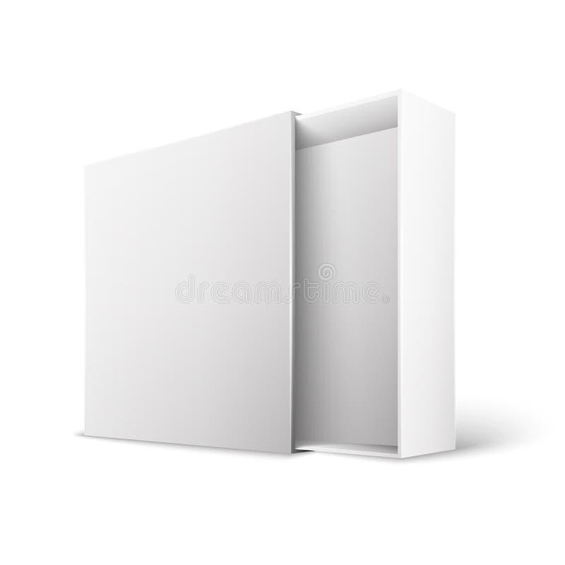 Коробка пакета продукта иллюстрация вектора