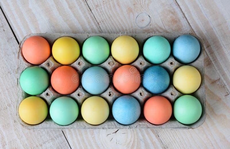 Коробка пасхального яйца стоковое фото