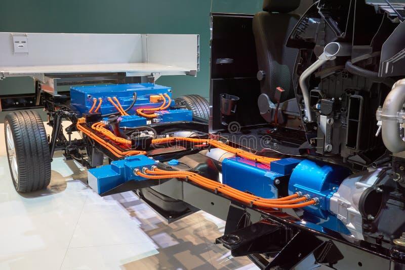 Коробка передач Cutaway тележки стоковые изображения rf