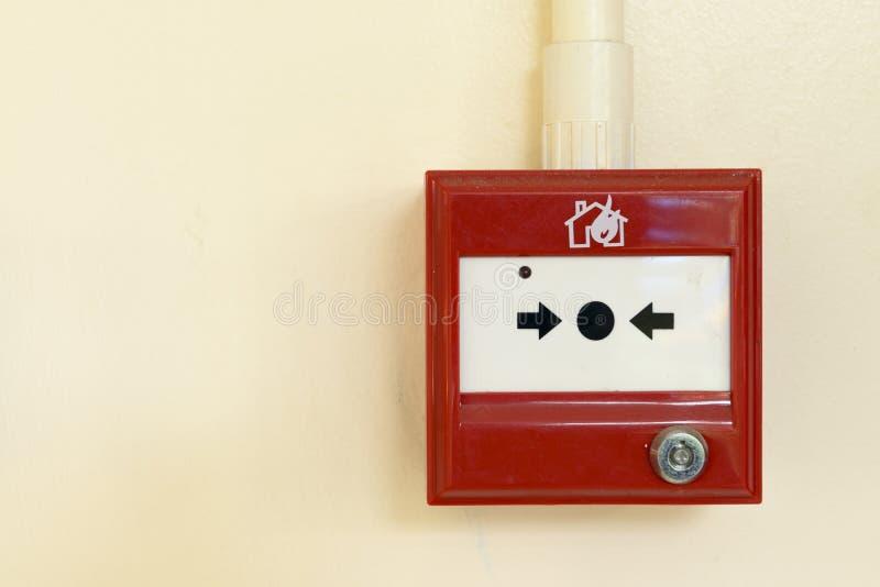 Коробка пожарной сигнализации стоковое изображение rf