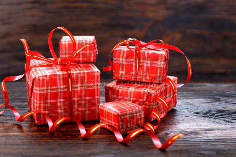 Коробка подарка рождества стоковое изображение
