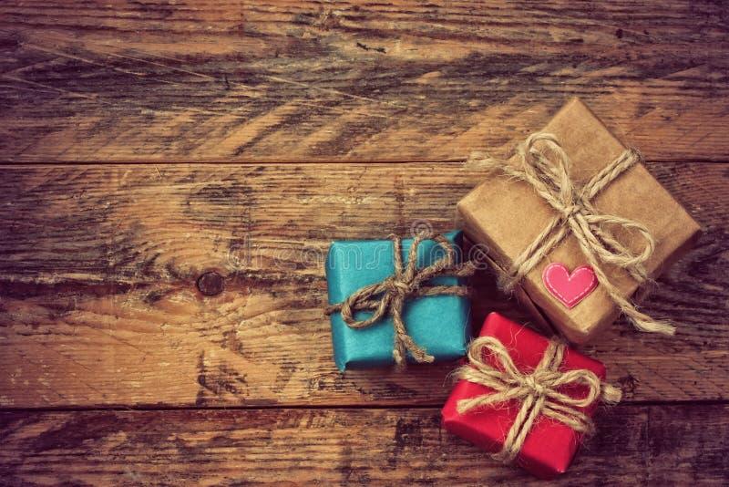 Коробка праздничного подарка 3 стоковое изображение