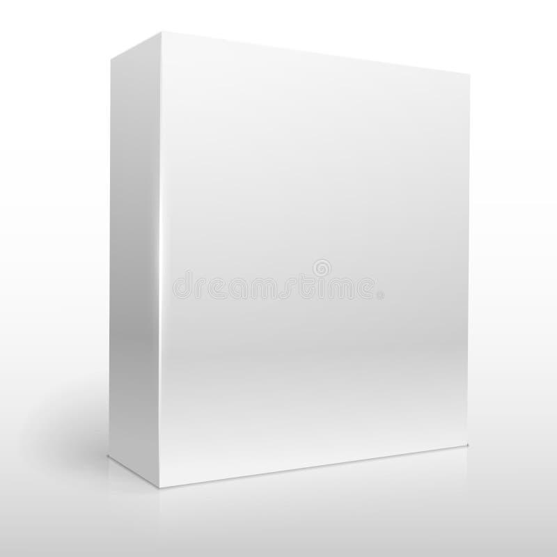 Коробка программного обеспечения иллюстрация штока