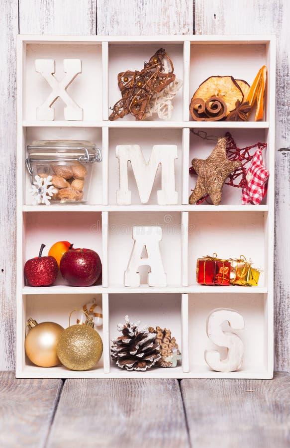 Коробка рождества стоковая фотография rf