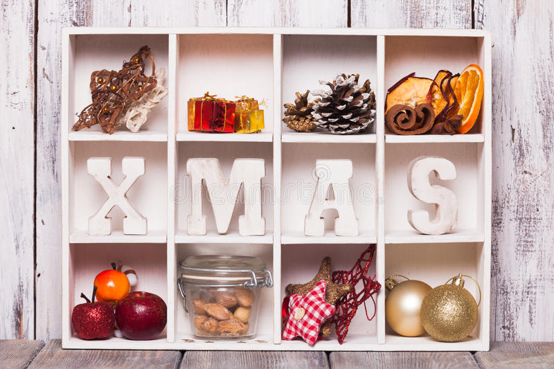 Коробка рождества стоковые фотографии rf