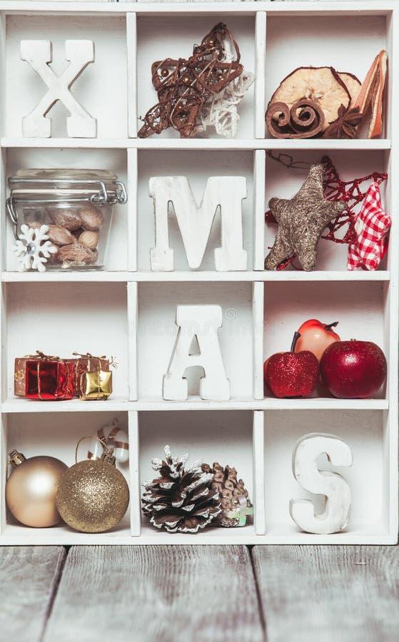 Коробка рождества стоковое фото