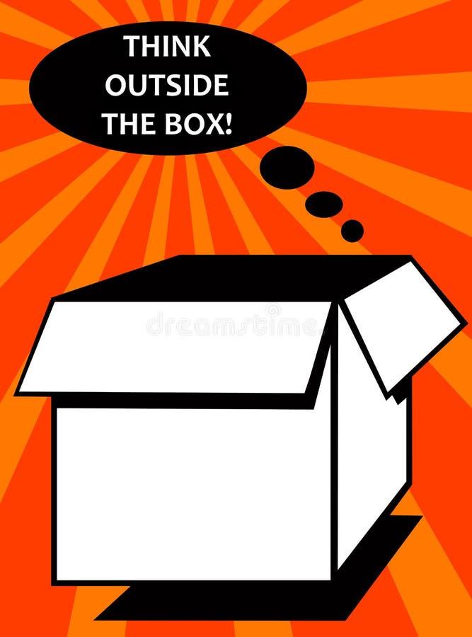 коробка снаружи бесплатная иллюстрация
