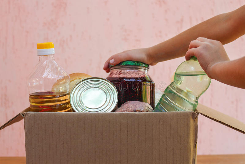 коробка с едой для похудения