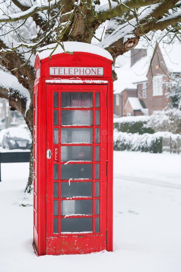 Коробка телефона в Великобритании стоковое фото rf