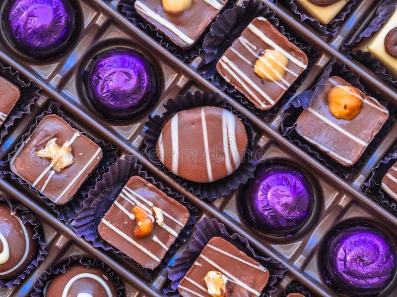 Коробка шоколада стоковые изображения rf