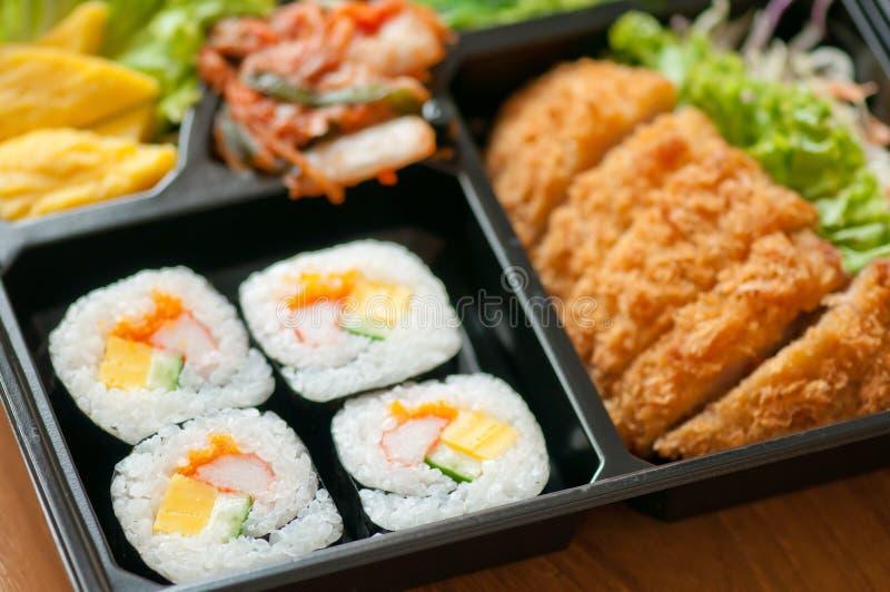Коробка Bento стоковая фотография rf