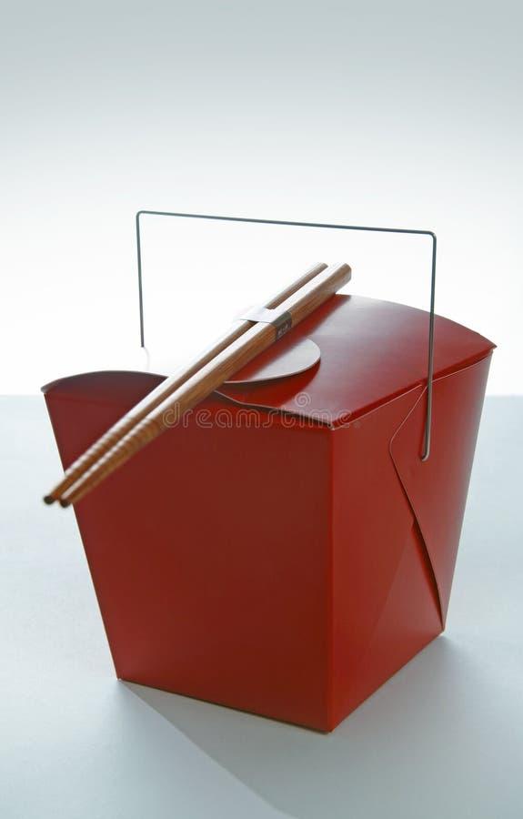 коробка takeout стоковые фото