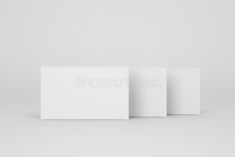 3 коробки пилюлек на серой предпосылке иллюстрация вектора