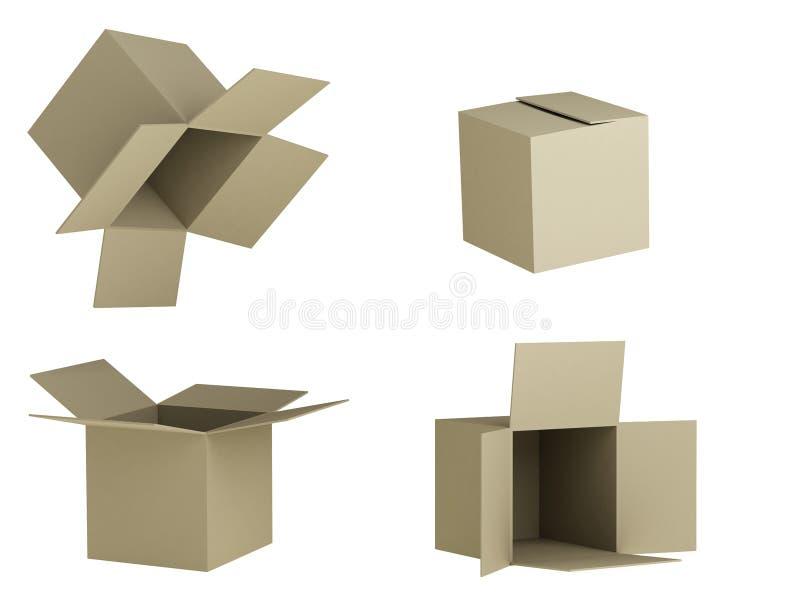 коробки бесплатная иллюстрация
