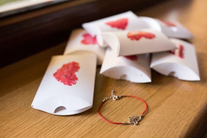 Коробки keepsake свадьбы стоковые фотографии rf