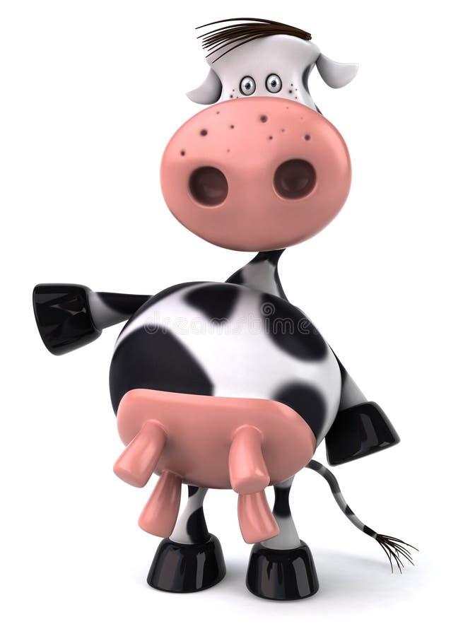 корова милая иллюстрация вектора